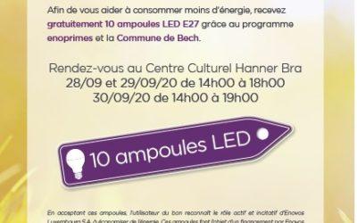 Action 10 ampoules LED